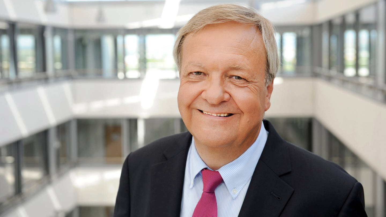 SWR-Justiziar Dr. Hermann Eicher kündigt seinen Abschied an - Foto: SWR/Kristina Schäfer